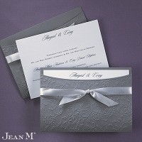 Flowers and Vines - Invitation